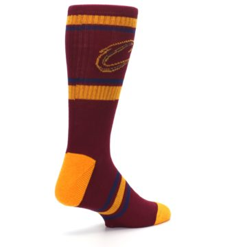 Image of Cleveland Cavaliers Men's Athletic Crew Socks (side-1-back-22)