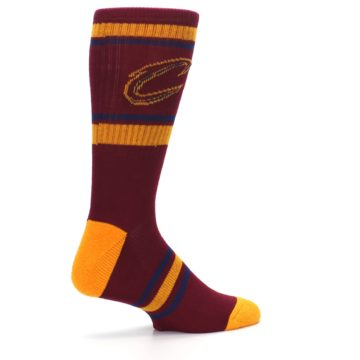 Image of Cleveland Cavaliers Men's Athletic Crew Socks (side-1-23)