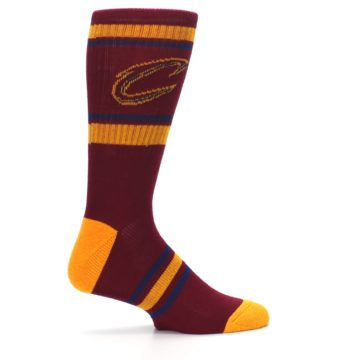 Image of Cleveland Cavaliers Men's Athletic Crew Socks (side-1-24)