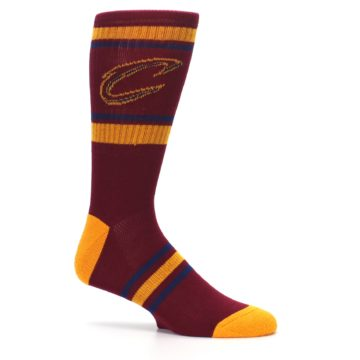 Image of Cleveland Cavaliers Men's Athletic Crew Socks (side-1-25)