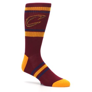 Image of Cleveland Cavaliers Men's Athletic Crew Socks (side-1-26)