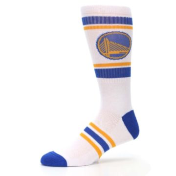Image of Golden State Warriors Men's Athletic Crew Socks (side-2-10)