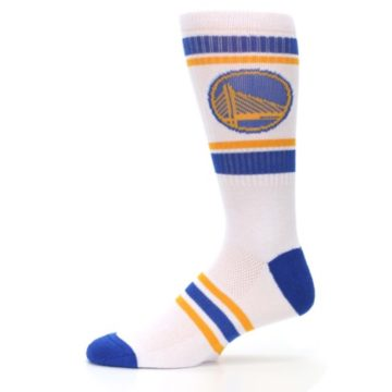 Image of Golden State Warriors Men's Athletic Crew Socks (side-2-11)