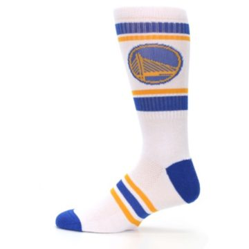 Image of Golden State Warriors Men's Athletic Crew Socks (side-2-12)