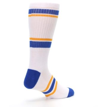 Image of Golden State Warriors Men's Athletic Crew Socks (side-1-back-22)