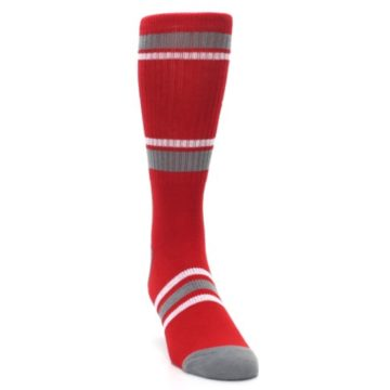 Image of Houston Rockets Men's Athletic Crew Socks (side-1-front-03)