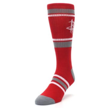 Image of Houston Rockets Men's Athletic Crew Socks (side-2-front-07)