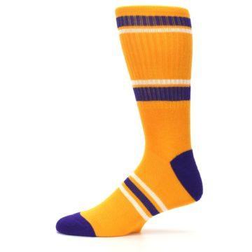 Image of Los Angeles Lakers Men's Athletic Crew Socks (side-2-11)
