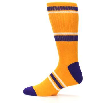 Image of Los Angeles Lakers Men's Athletic Crew Socks (side-2-12)