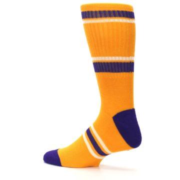 Image of Los Angeles Lakers Men's Athletic Crew Socks (side-2-13)