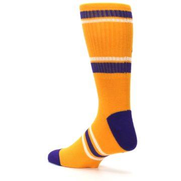 Image of Los Angeles Lakers Men's Athletic Crew Socks (side-2-back-14)