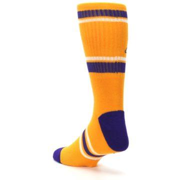 Image of Los Angeles Lakers Men's Athletic Crew Socks (side-2-back-15)