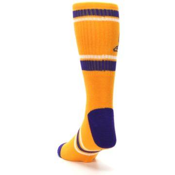Image of Los Angeles Lakers Men's Athletic Crew Socks (side-2-back-16)