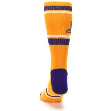 Image of Los Angeles Lakers Men's Athletic Crew Socks (back-17)