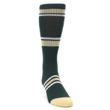 Image of Milwaukee Bucks Men's Athletic Crew Socks (side-1-front-03)