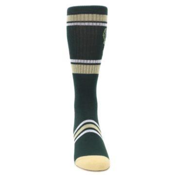 Image of Milwaukee Bucks Men's Athletic Crew Socks (front-04)