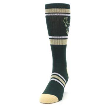 Image of Milwaukee Bucks Men's Athletic Crew Socks (side-2-front-06)