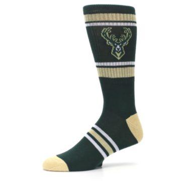 Image of Milwaukee Bucks Men's Athletic Crew Socks (side-2-10)