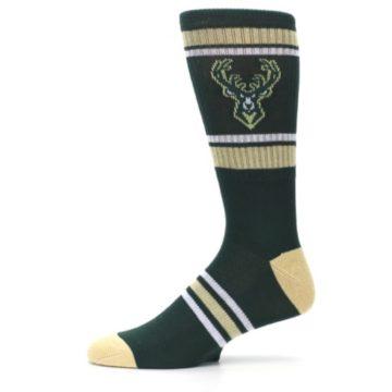 Image of Milwaukee Bucks Men's Athletic Crew Socks (side-2-11)