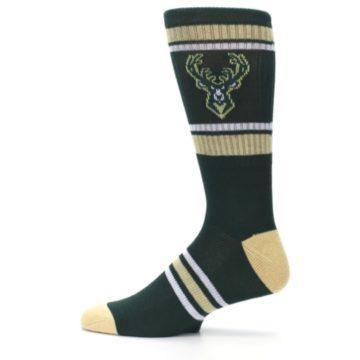 Image of Milwaukee Bucks Men's Athletic Crew Socks (side-2-12)
