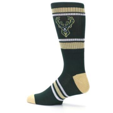 Image of Milwaukee Bucks Men's Athletic Crew Socks (side-2-13)
