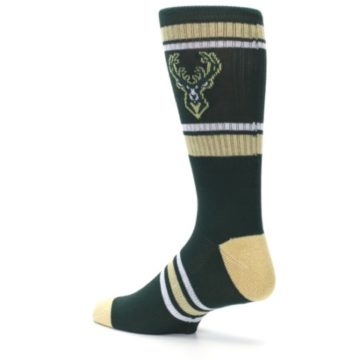 Image of Milwaukee Bucks Men's Athletic Crew Socks (side-2-back-14)