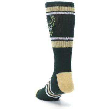 Image of Milwaukee Bucks Men's Athletic Crew Socks (side-2-back-16)