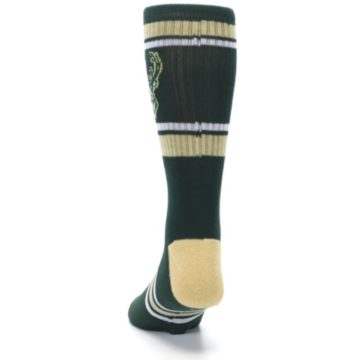 Image of Milwaukee Bucks Men's Athletic Crew Socks (back-17)