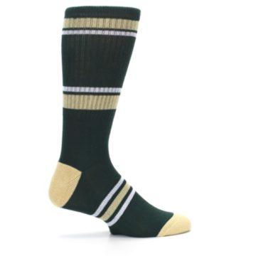 Image of Milwaukee Bucks Men's Athletic Crew Socks (side-1-24)