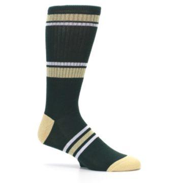Image of Milwaukee Bucks Men's Athletic Crew Socks (side-1-25)