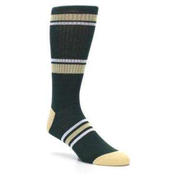 Image of Milwaukee Bucks Men's Athletic Crew Socks (side-1-27)