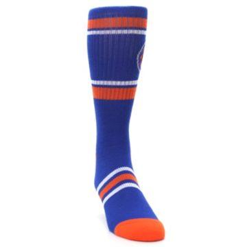 Image of New York Knicks Men's Athletic Crew Socks (side-1-front-03)