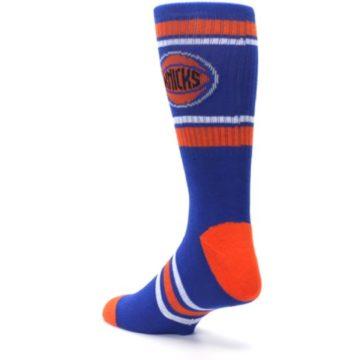 Image of New York Knicks Men's Athletic Crew Socks (side-2-back-15)