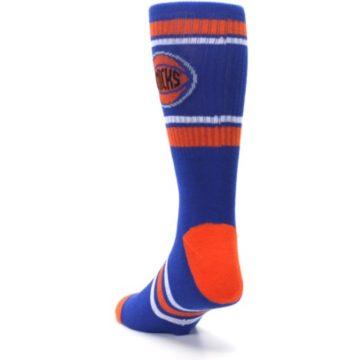 Image of New York Knicks Men's Athletic Crew Socks (side-2-back-16)