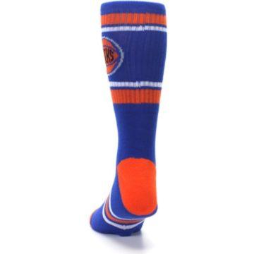 Image of New York Knicks Men's Athletic Crew Socks (back-17)
