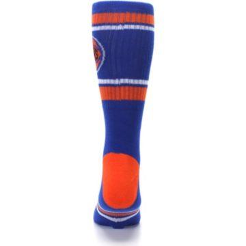 Image of New York Knicks Men's Athletic Crew Socks (back-18)