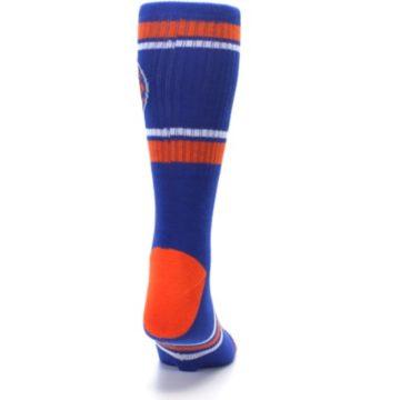 Image of New York Knicks Men's Athletic Crew Socks (back-19)