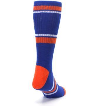 Image of New York Knicks Men's Athletic Crew Socks (side-1-back-20)