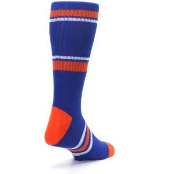 Image of New York Knicks Men's Athletic Crew Socks (side-1-back-21)