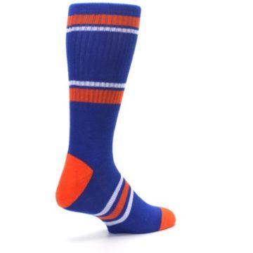 Image of New York Knicks Men's Athletic Crew Socks (side-1-back-22)