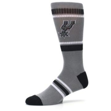 Image of San Antonio Spurs Men's Athletic Crew Socks (side-2-10)