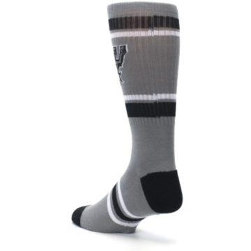Image of San Antonio Spurs Men's Athletic Crew Socks (side-2-back-15)