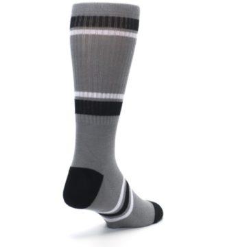 Image of San Antonio Spurs Men's Athletic Crew Socks (side-1-back-21)