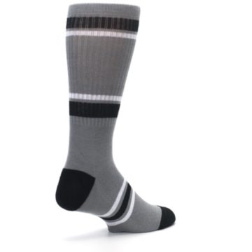Image of San Antonio Spurs Men's Athletic Crew Socks (side-1-back-22)