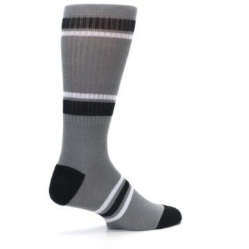 Image of San Antonio Spurs Men's Athletic Crew Socks (side-1-23)