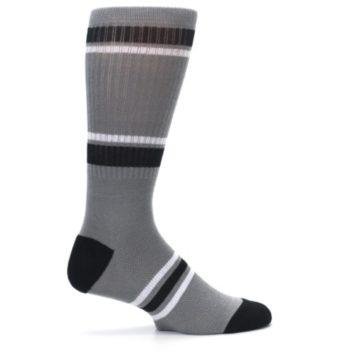 Image of San Antonio Spurs Men's Athletic Crew Socks (side-1-24)