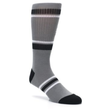 Image of San Antonio Spurs Men's Athletic Crew Socks (side-1-27)