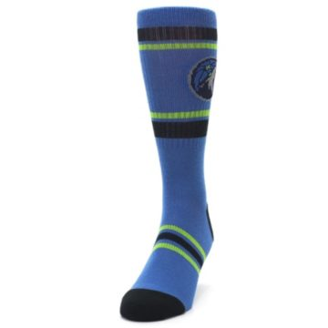 Image of Minnesota Timberwolves Men's Athletic Crew Socks (side-2-front-06)