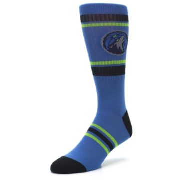 Image of Minnesota Timberwolves Men's Athletic Crew Socks (side-2-front-08)
