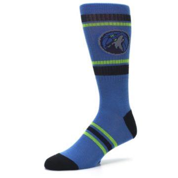 Image of Minnesota Timberwolves Men's Athletic Crew Socks (side-2-09)
